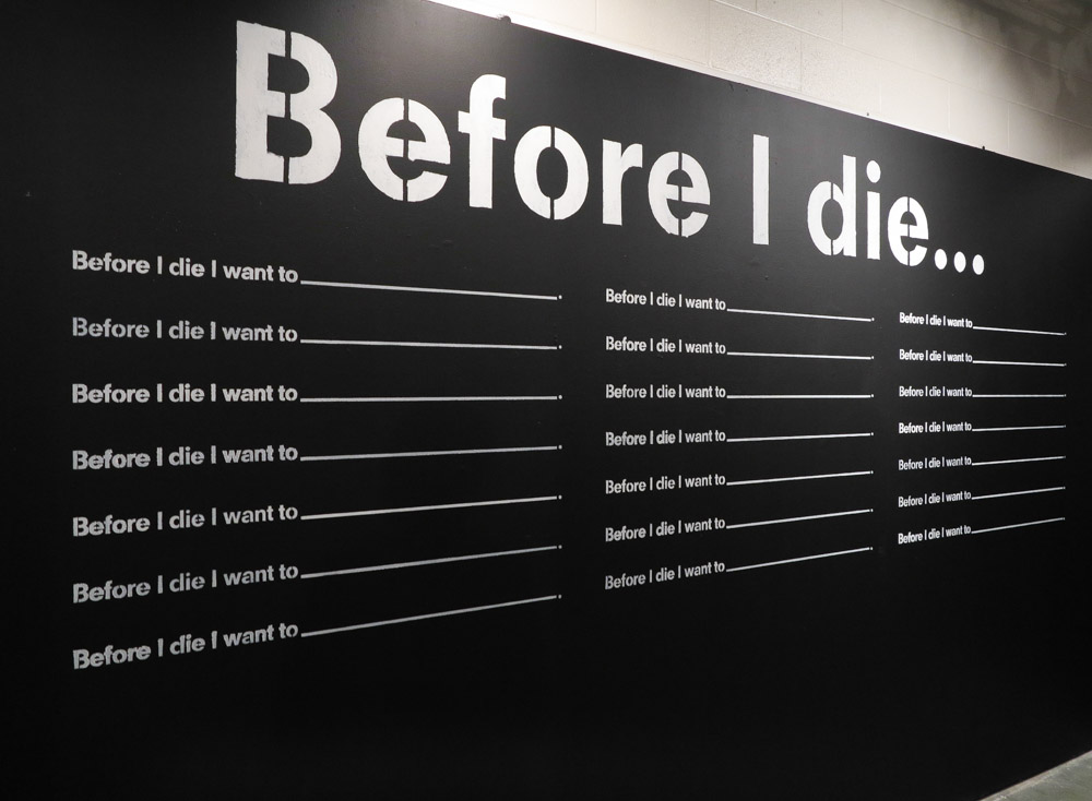 before i die It means that even while you want to die,  suicide is not chosen it happens  i will wait 24 hours before i do anything.
